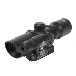 Firefield 1.5-5 Riflescope with Attached Green Laser