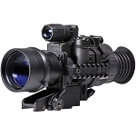 Pulsar 3x50 Phantom Gen 3 Night Vision Riflescope with Quick-Detach Mount (Mil-Dot Reticle)