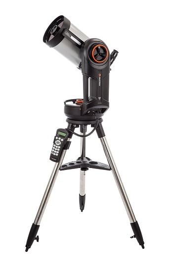 "Celestron NexStar Evolution 6 6"" f/10 wireless go-to SCT Telescope - Telescope of the Year for 2016, Best Telescope for Gadget Lovers"
