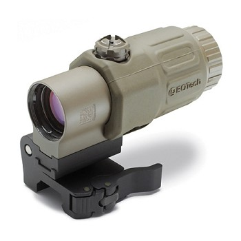 EOTech G33.STSTAN 3x Magnifier with Mount (Tan)