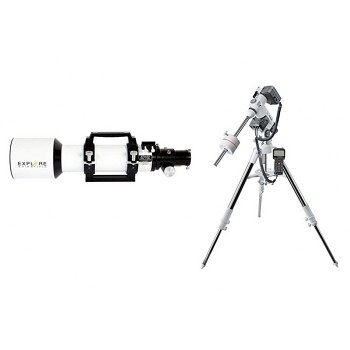 Explore Scientific 102mm f/7 ED Apochromatic Triplet Essential Refractor Telescope w/EXOS2GT mount