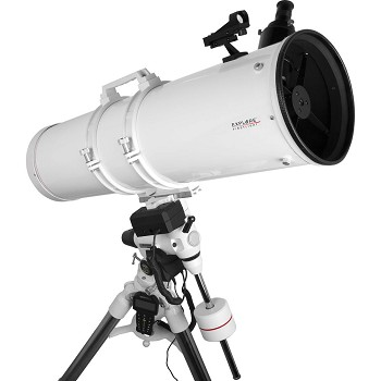 Explore Scientifica FirstLight N203mm White Tube Newtonian with EXOS-2 Mount White with GOTO