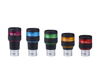 "Vixen SSW Series 1.25"" 83 degree Ultra Wide Eyepieces"