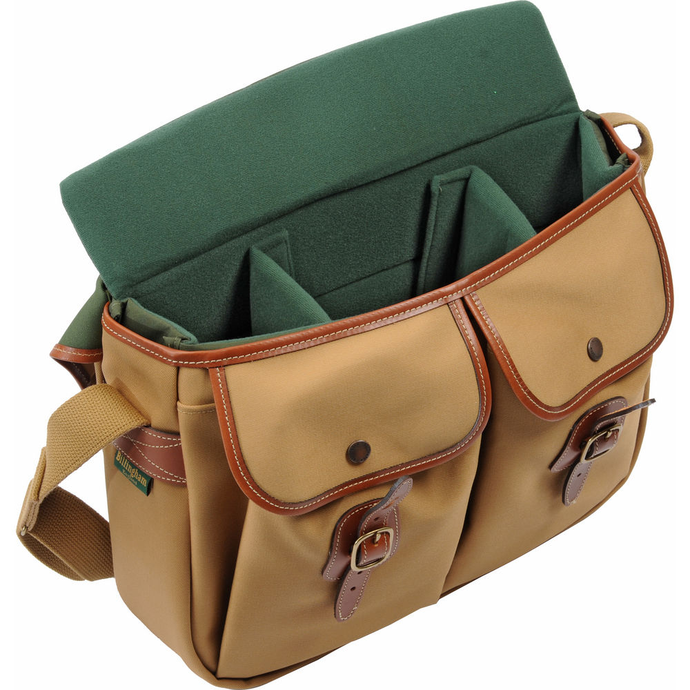 Billingham Hadley Shoulder Bag Large 8 Options Small Sage Choc Leather Trim Quick View