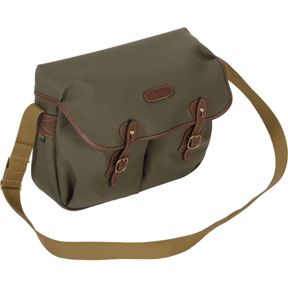 Billingham Hadley Pro Shoulder Bag Small Digital Burgundy Canvas Chocolate Leather Quick View