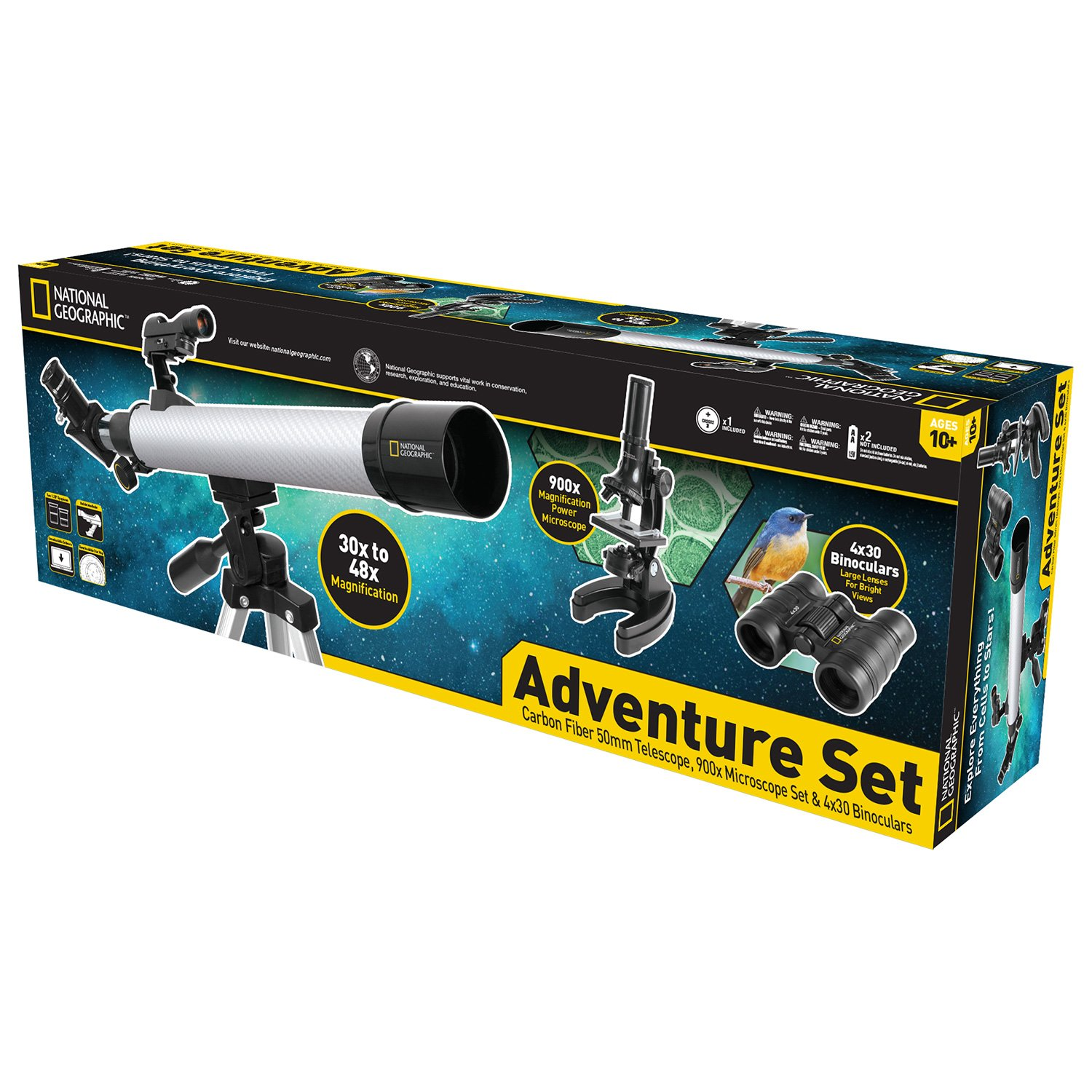 Explore Scientific National Geographic Deluxe Adventure Set