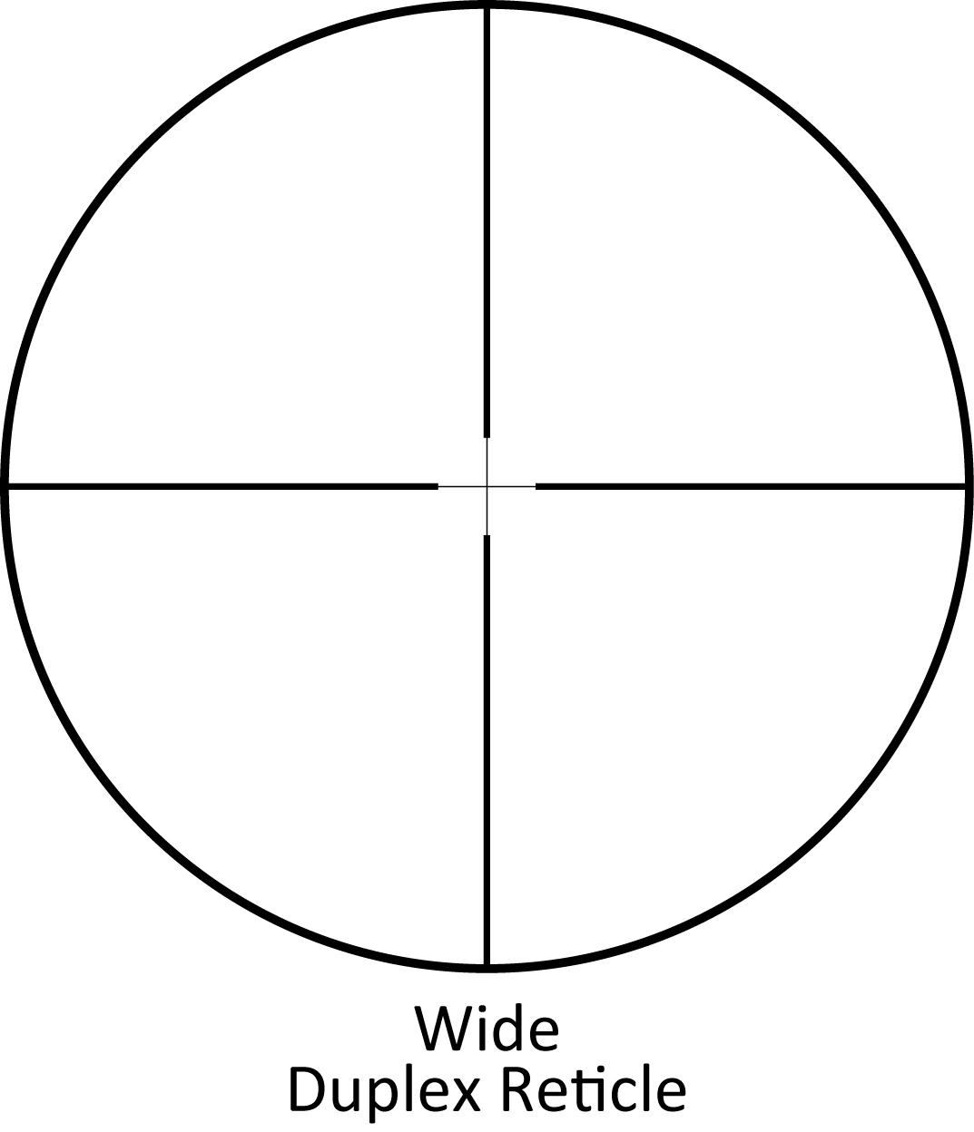 Image result for long range wide duplex reticle sightron