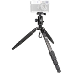 Sirui T-025SK Carbon Fiber 5 Section Tripod Kit with B-00K Ball Head -  Replacement for T-025x