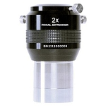 Explore Scientific 2x Focal Extender, 2-inch Barrel, 4 Elements