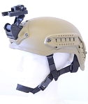 GSCI HM-714M-C Advanced Helmet Mount, Complete kit with straps