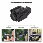 Bestguarder NV-600 Ultra Small 1-5X18mm Digital Infrared Night Vision Multi-Purpose Monocular/Scope