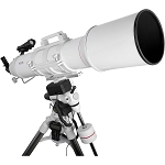 Explore Scientific FirstLight AR152mm White Tube Refractor with EXOS-2 Mount White GOTO