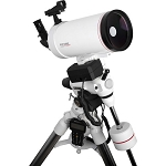 Explore Scientific FirstLight MAK127mm White Tube Maksutov-Cassegrain with EXOS-2 Mount White with GOTO