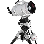 Explore Scientifica FirstLight MAK152mm White Tube Maksutov-Cassegrain with EXOS-2 Mount White with GOTO