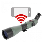 ATN X-Spotter HD Smart Day/Night Spotting Scope w/1080p Video, WiFi, GPS, Image Stabilization, Smooth Zoom and IOS and Android Apps