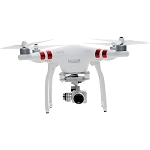 DJI Phantom 3 Standard with 2.7K Camera and 3-Axis Gimbal - With Hardshell BackPack