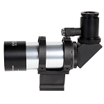 Explore Scientific 8x50 Erect Image Right Angle Illuminated Finderscope with Bracket, 7 Degree Field of View