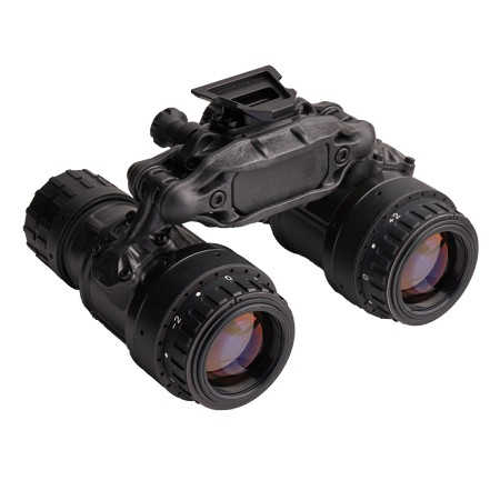 ACTinBlack DTNVS-DEP Dual Tube Night Vision Binocular -  equipped with AN/PVS-14 objectives and DEP large eye box Oculars which are intended for ground use