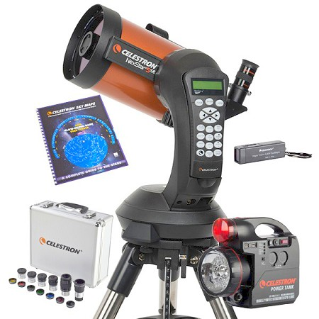 Celestron NexStar 5SE Computerized Telescope with Observing Accessory Bundle - Telescope of the Year for 2017
