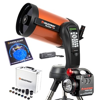 Celestron NexStar 8SE Computerized Telescope with Observing Accessory Bundle - Telescope of the Year for 2017