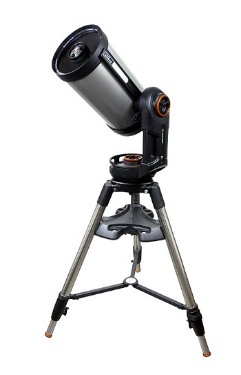 "Celestron NexStar Evolution  925 9.25"" f/10 Wireless Go-To SCT Telescope - Telescope of the Year for 2016, Best Telescope for Gadget Lovers"