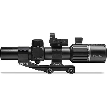 Burris Optics 1-6x24 RT-6 Riflescope and FastFire III Reflex Sight Tactical Kit (Illuminated Ballistic AR Reticle, Matte Black)