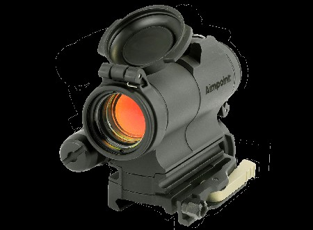 Aimpoint CompM5s Sight 2 MOA with 39mm Spacer LRP Mount