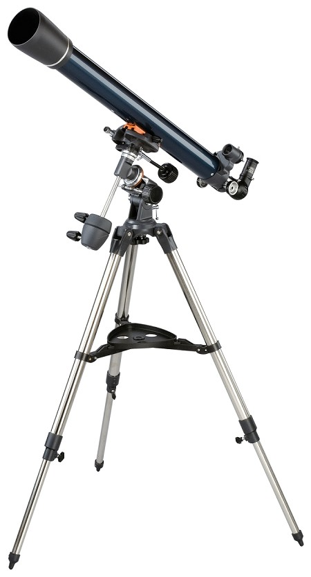 "Celestron AstroMaster-70 EQ 70mm 2.7""/70mm Refractor Telescope Kit  - Telescope of the Year for 2016"