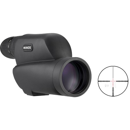 Minox MD 60 ZR Spotting Scope (Attached ocular 12-40x, built-in reticle)