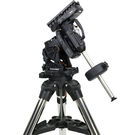 Celestron CGX-L GoTo EQ Mount without Tripod - Sky and Telescope's 2017 Hot Product