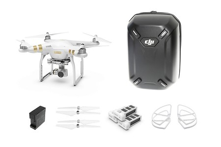 DJI Phantom 3 Advanced Quadcopter Everything Combo - Most Giftable