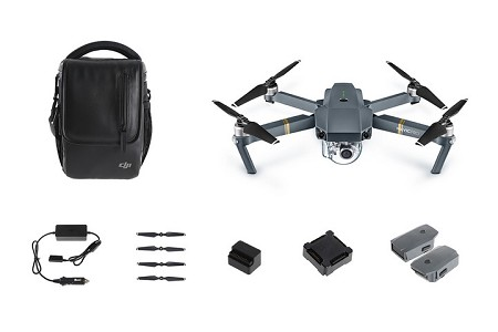 DJI Mavic Pro Camera Drone Fly More Combo