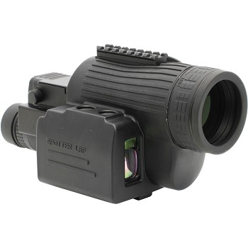 Newcon Optik 15-45x60 Laser Rangefinder Spotting Scope (Straight Viewing)