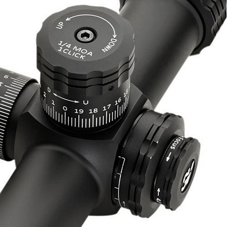 Sightron Riflescope Accessories: Sunshades / Side Focus Wheel / Turrets / ScopeCoat / Switchview Lever
