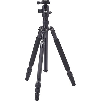 Sirui T-004X Aluminum Tripod with C-10S Ball Head (Black)