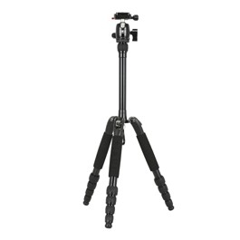 Sirui T-005SK Aluminum 5 Section Tripod Kit with B-00K Ball Head - Compact Travel Tripod Kits