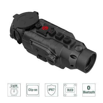 Guide TA435 Thermal Imaging Clip-On System 400x300 px, 35mm lens, 50/60Hz - Endow your daylight scope with Thermal Vision