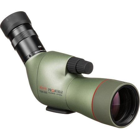 Kowa TSN-553 50mm Prominar Fluorite Crystal Spotting Scope (Angled Body) - The top-scoring scopes in the $1,000-$2,000 range