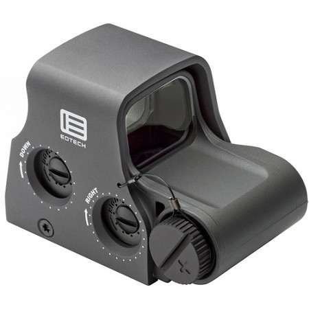 EOTech Model XPS2 Holographic Weapon Sight (Ring with Single Red Dot Reticle, Gray)