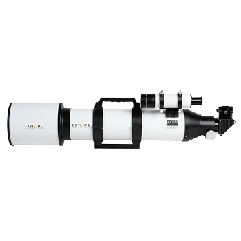 Explore Scientific AR127 f/6.5 Air-Spaced Doublet Achromat Refractor , Includes Twilight 1 (MAZ01-00) Tripod Assembly