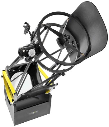 "Explore Scientific 10"" Truss Tube Generation II Dobsonian Telescope"