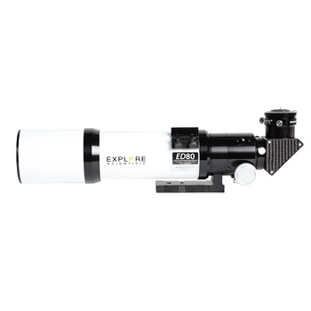 Explore Scientific 80mm f/6 ED Apochromatic Triplet Essential Refractor Telescope ( TOP SELLER )