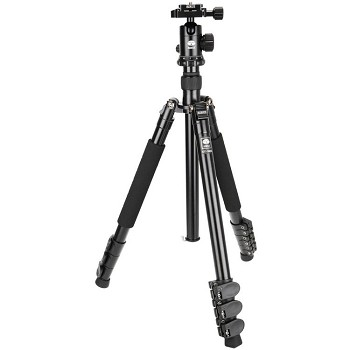 Sirui ET-1004 Aluminum 4 section Tripod with E-10 Ball Head - Top Seller