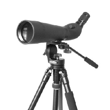 Olivon T-800 20-60x80 Spotting Scope with Camera Tripod 4