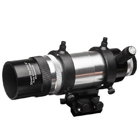 Explore Scientific 8x50 Erect Image Straight-Through Illuminated Finderscope with Bracket, 6 Degree Field of View